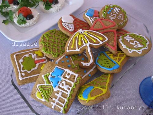 doğum günü zencefilli kurabiye
