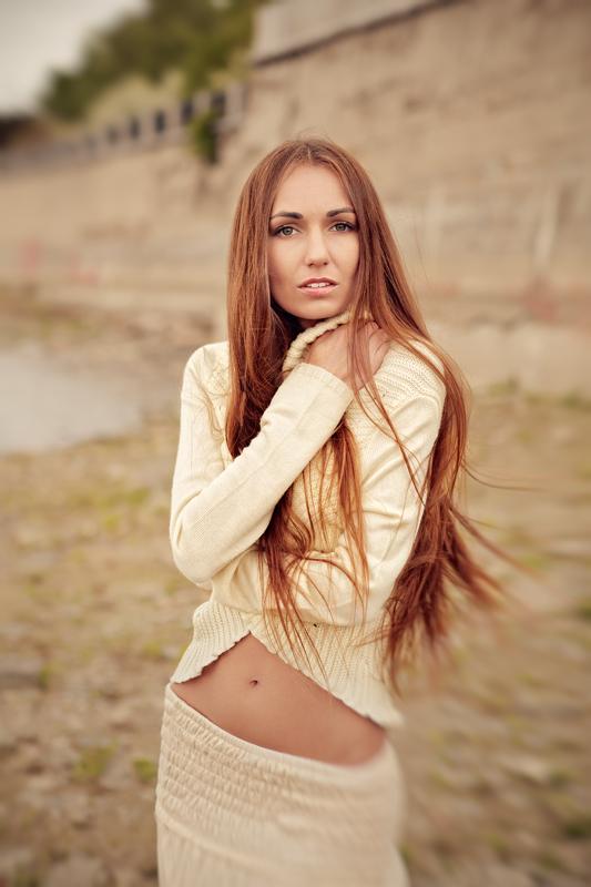 Выездная фотосессия девушки