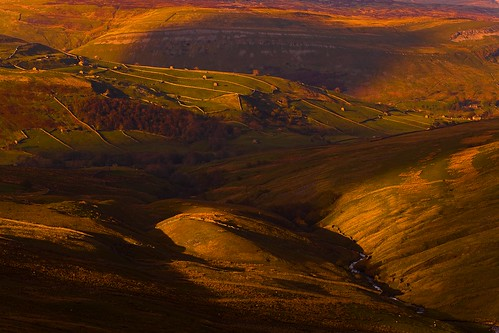 Swaledale From the Buttertubs Pass (Explored)