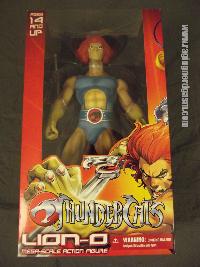 Mega Scale Lion-O from ThunderCats by Mezco