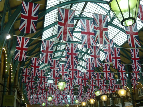 Jubilee Flags Covent Garden