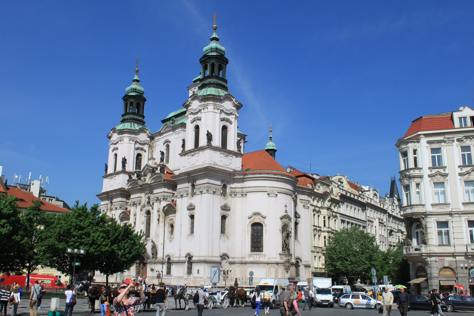 Church of St Nicholas, Old Town Square, Prague
