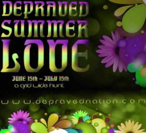Depraved Summer Love Hunt by Cherokeeh Asteria