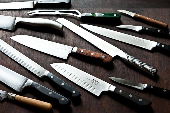 Group of knives