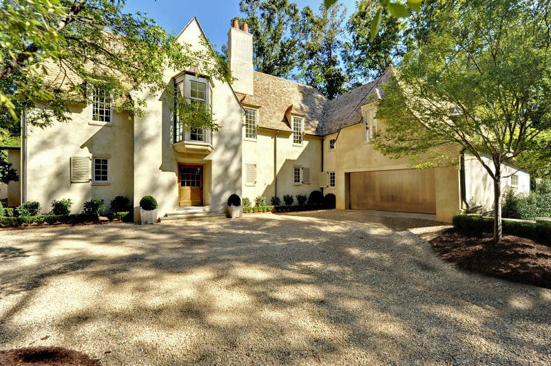 Things That Inspire  On the market  a Bobby McAlpine house in AtlantaHere is the finished house  an original Bobby McAlpine design  it conforms perfectly to the lot and sits comfortably in its environs  and is a beautiful