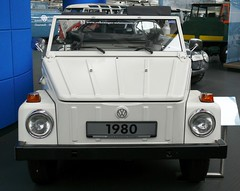 VW Typ 181 Safari 1980 white v