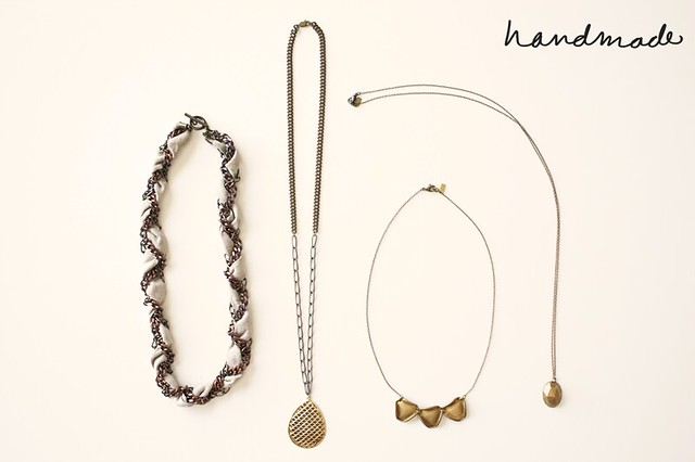 collected jewelry by Ana Maria Munoz