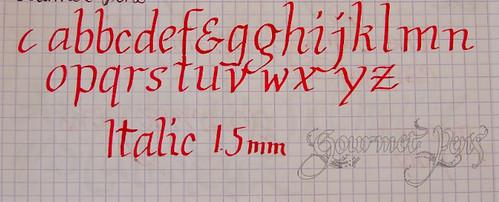 Pilot Parallel Italic