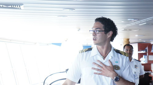 Ship's First Officer - Norwegian Jade Behind the Scenes Tour
