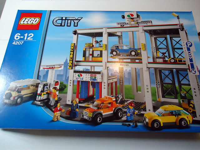 Lego 4207 City Garage Review Lego Town Eurobricks Forums