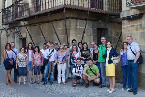 I Viaje de ida de la Excursión Blogeu a Rioja Alavesa