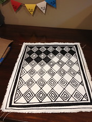 the Bailey mini rug (in progress)