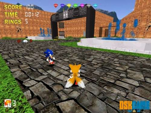 Sonic The Hedgehog 3D 2