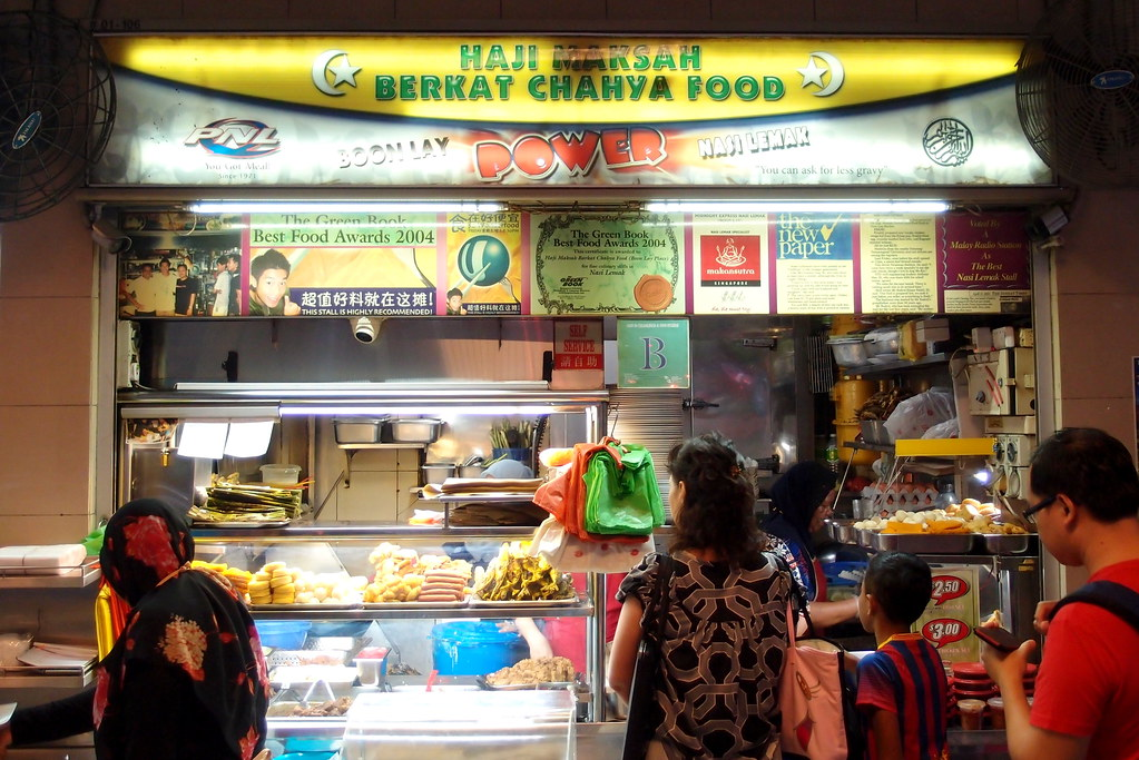 Boon Lay Power Nasi Lemak Stall Front