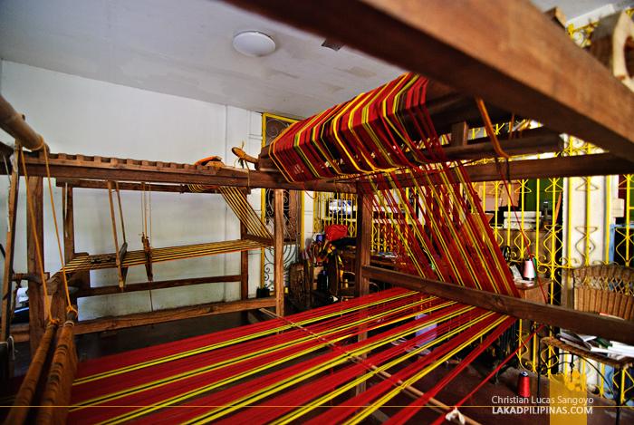 Weaving at Camina Balay Nga Bato Ancestral House in Iloilo City
