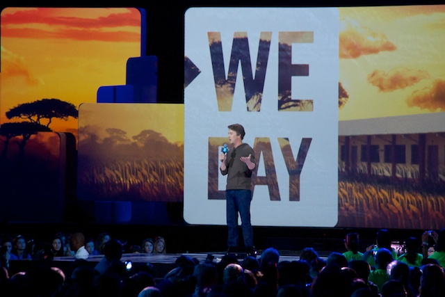 Ed Norton at We Day Seattle