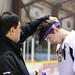 Awards Presentation for Youth, Jamboree, and Old Timer Divisions - 2014 YIHA Kilrich/Northerm Yukon Native Hockey Tournament