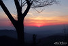 Sunrise Across The Blue Ridge by Larry W Brown