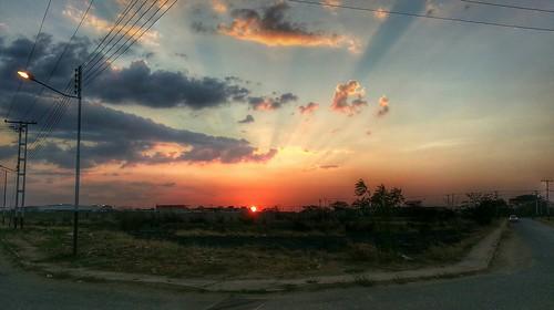 sunset atardecer venezuela android guárico flickrandroidapp:filter=none