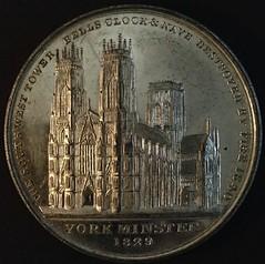 Burns Yorkminster medal