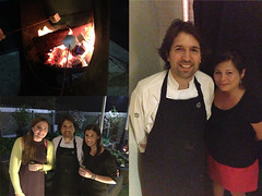 Marshmallows in the garden with Chef Ben Shewry! Attica in Melbourne, Australia (Nyree Mcfarlane and Madeleine Blake)