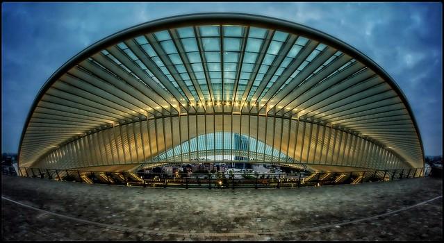 railway station Liège-Guillemins