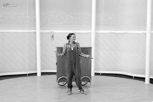 giocoliere (juggler)