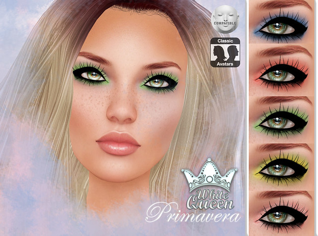 ::White Queen:: primavera eyeshadow - lelutka