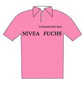 Nivea Fuchs - Giro d'Italia 1955 -  La maglia rosa del vincitore Fiorenzo Magni