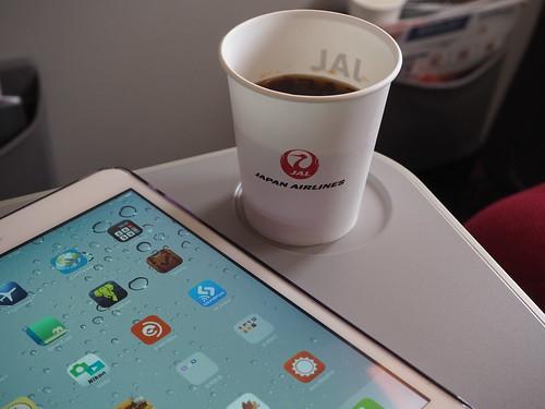 JAL CAFE LINESの美味しいコーヒー