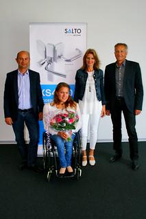 Catherine Debrunner - Wheelchair Athlete