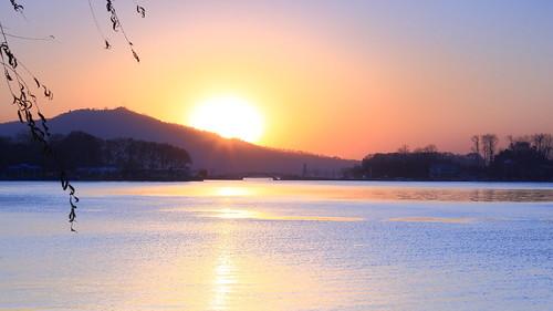 china water sunrise canon nanjing