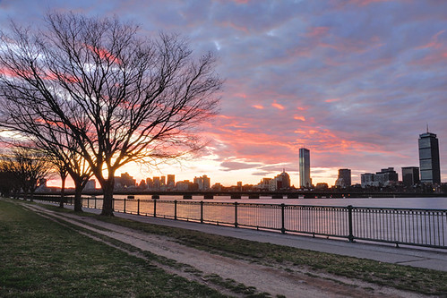 Boston Sunrise March 24, 2012 by MY DOG TAZ