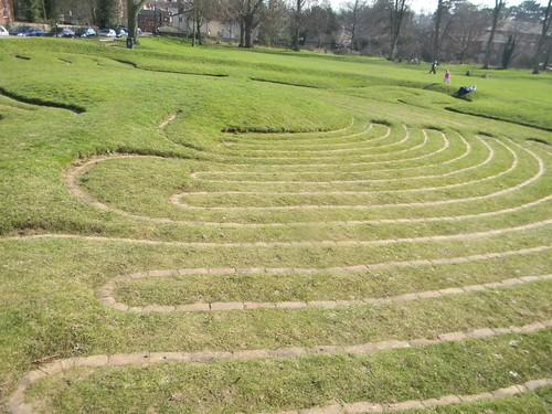 Turf maze, Saffron Walden