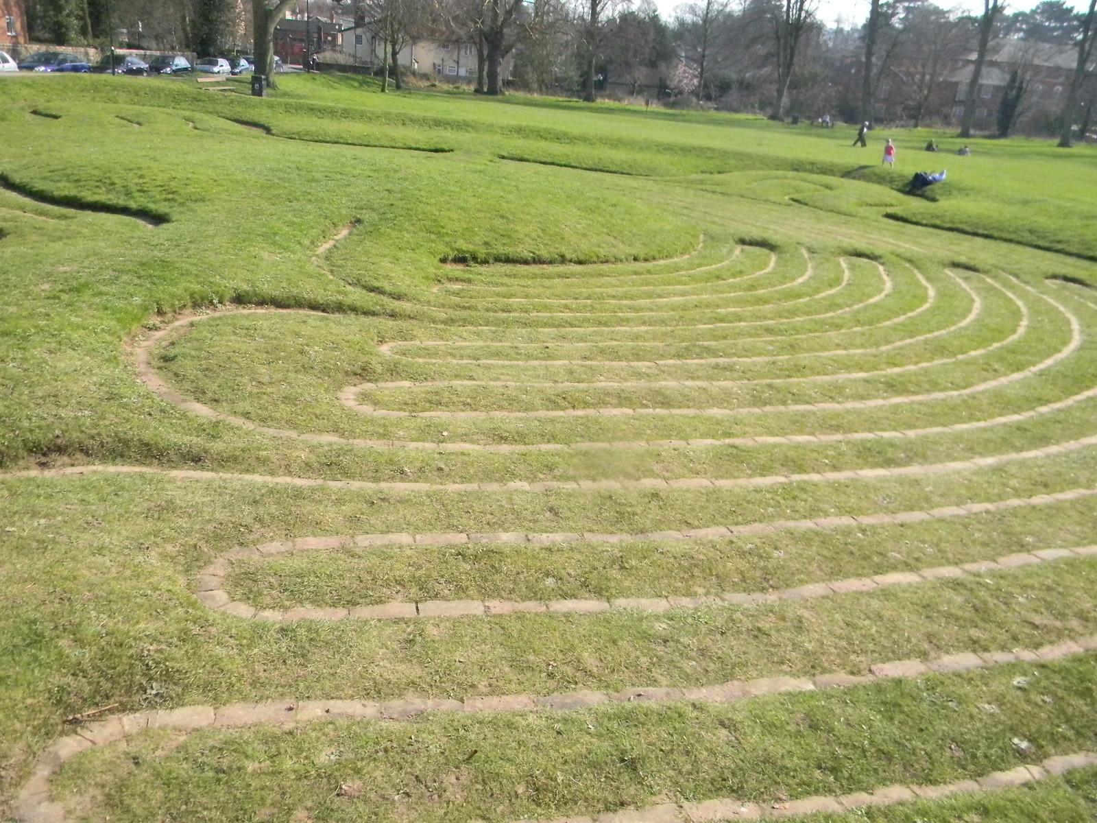 Turf maze, Saffron Walden Great Chesterford to Newport