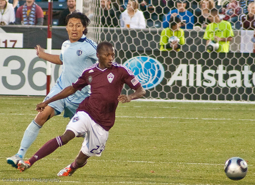 Sanna Nyassi Colorado Rapids by CE's Photography