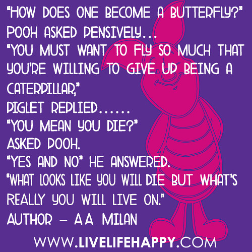 How Does One Become a Butterfly?