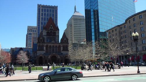 центр города Бостон