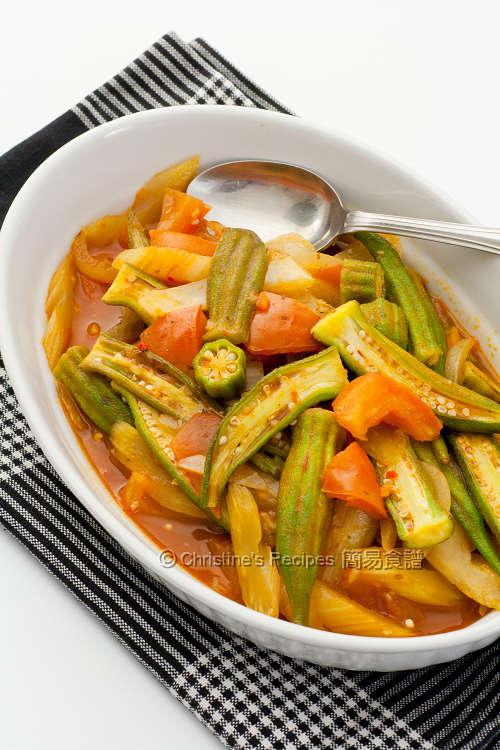 意式鮮茄秋葵 Okra in Bolognese Sauce Okra in Bolognaise Sauce01