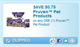 Pruven Pet Product  Coupon