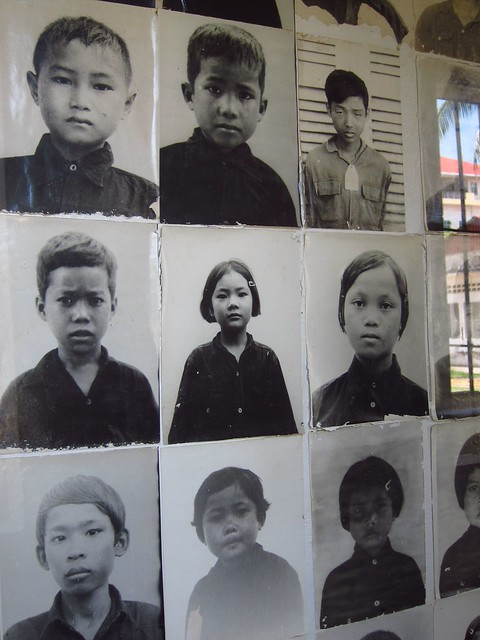 Mug Shots of Children Prisoners at S-21