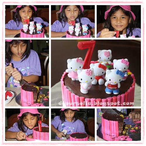 Hello Kitty - Naomi Turned 7 y.o.
