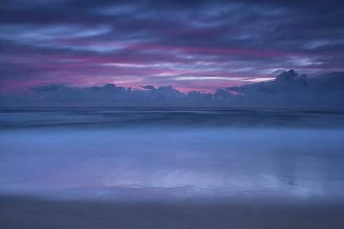 [フリー画像素材] 自然風景, 海, ビーチ・海岸, 朝焼け・夕焼け, 風景 - オーストラリア ID:201205032000