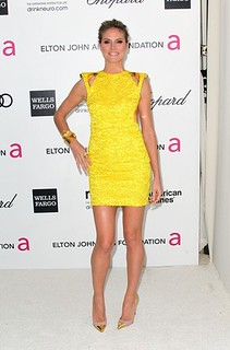 Heidi Klum Cap Toe Heels Celebrity Styling Fashion