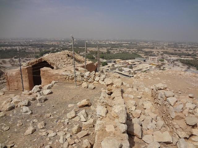 Ruinas de Shamal e Palacio da Rainha de Saba, Ras Al Khaimah Emirados