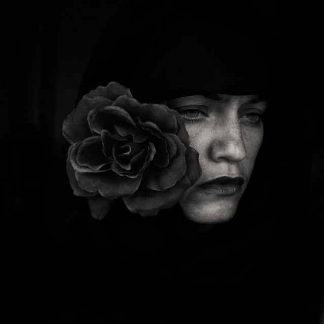 Black is my second skin - Emotional and Painful Portraits