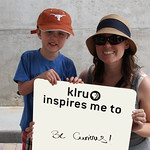 KLRU inspires me to ... Be Curious!