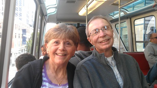 Monorail with Bev and Dennis by christopher575