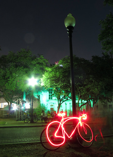 Luminaria 2012: Bicycle Light