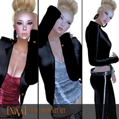 VERO MODERO MESH LAL JACKET SET by Bouquet Babii